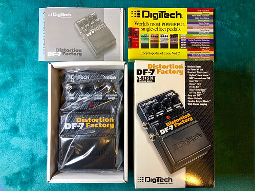 DigiTech DF-7 Distortion Factory Effect Pedal (New) - SOLD