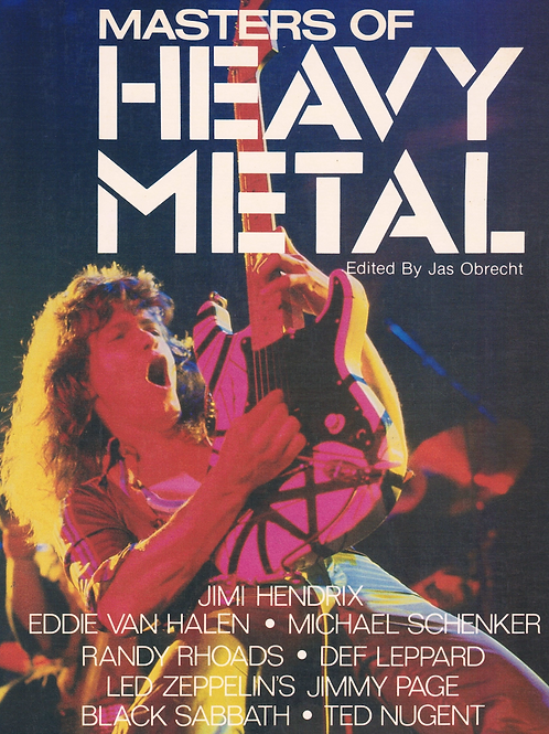 Masters of Heavy Metal by Jas Obrecht