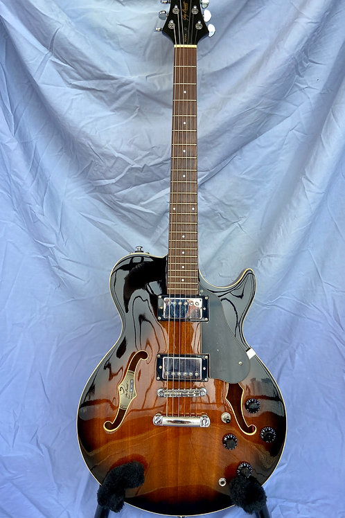 Greg Bennett Design by Samick Royale RL-1/BS Semi-Hollow Body Electric - SOLD