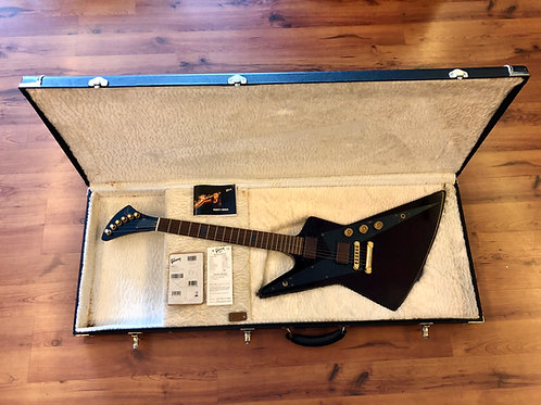 2008 Gibson Reverse Explorer Antique Walnut Guitar of The Month USA (M) - SOLD