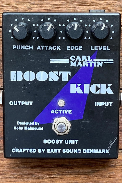 Carl Martin Boost Kick - Overdrive & Boost Pedal (F)