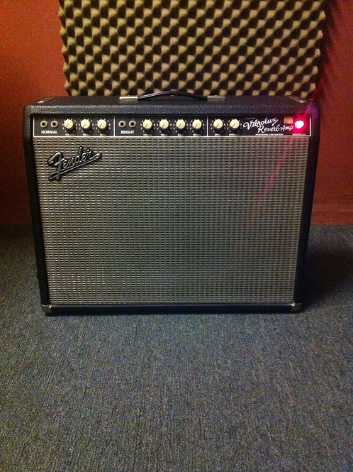 2001 Fender CS Vibrolux Reverb Amplifier USA - SOLD
