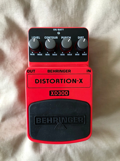 Behringer XD300 Distortion - X Pedal (EXC) - SOLD