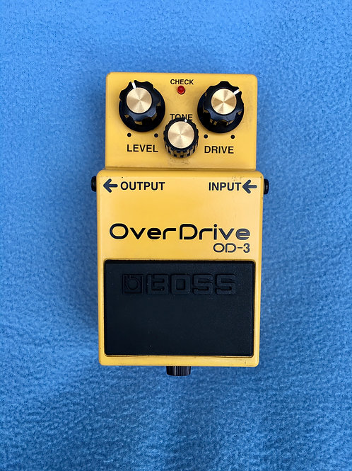 BOSS Overdrive OD-3 (MIT) Sep 2004 (VG) - SOLD