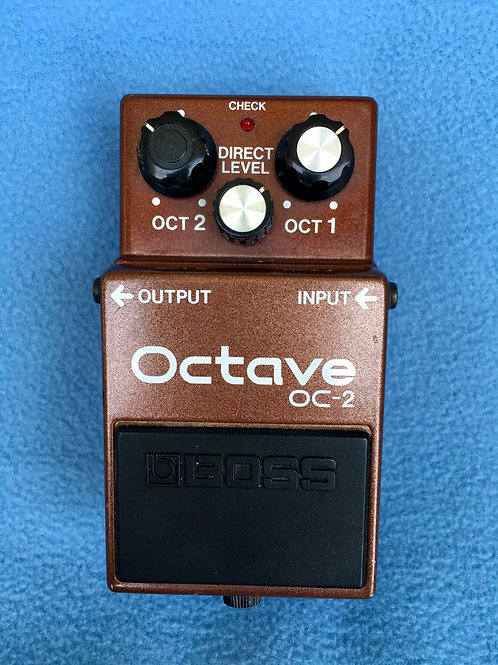 BOSS Octave OC-2 (MIJ) Oct 1985 (EXC) - SOLD