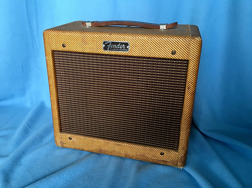 Late 1962 / Early 1963 Fender Tweed Champ USA - SOLD