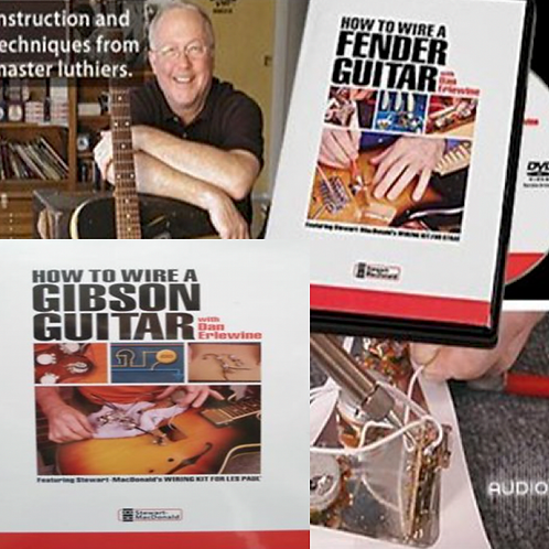 How To Wire A Gibson Guitar & How To Wire A Fender Guitar DVD