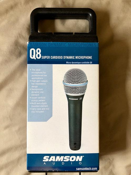 Samson Q8 Microphone XLR (New) - SOLD