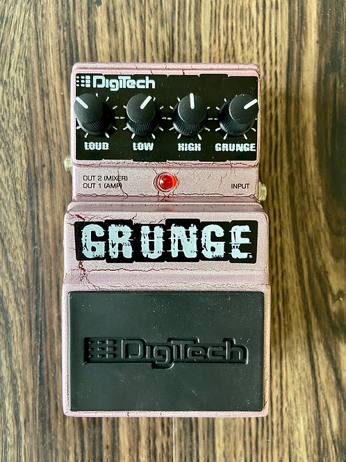 Digitech Grunge Distortion Pedal c/w original box, etc. (New) - SOLD