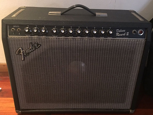 1980s Fender Deluxe Reverb II USA (VG) - SOLD