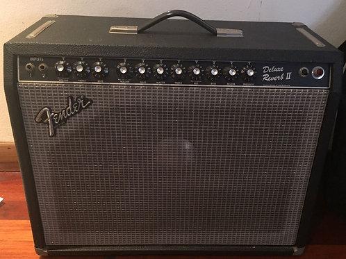 1980 년대 Fender Deluxe Reverb II USA (VG)-SOLD
