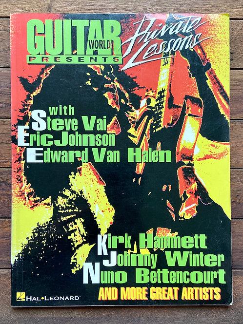 Guitar World, Steve Vai, Eric Johnson, EVH (G)와 함께 개인 레슨 제공