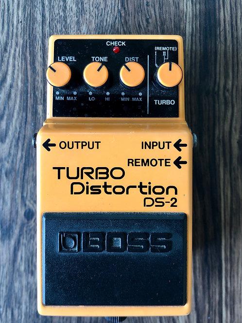 Boss DS-2 Turbo Distortion MIT (VG)-판매