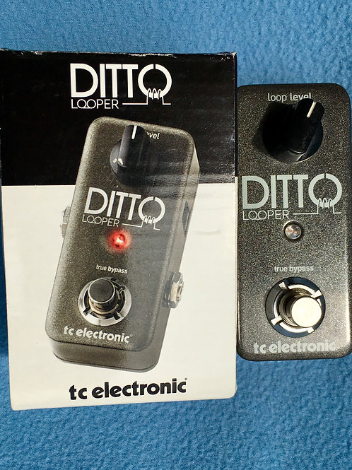 TC Electronic Ditto Looper Grey Pedal - SOLD