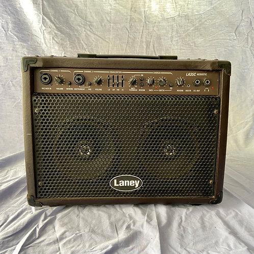 Laney LA35C Acoustic Guitar Combo Amplifier (35W) (G)