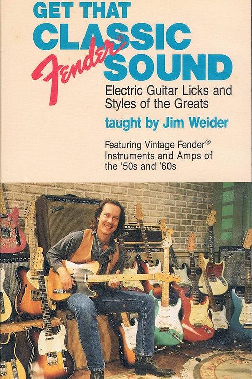 Get That Classic Fender Sound by Jim Weider DVD