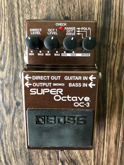 Boss OC-3 Super Octave MIT (VG) - SOLD
