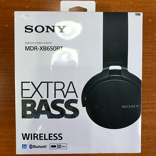 Sony Wireless Stereo Headset MDR-XB650BT (New) - SOLD