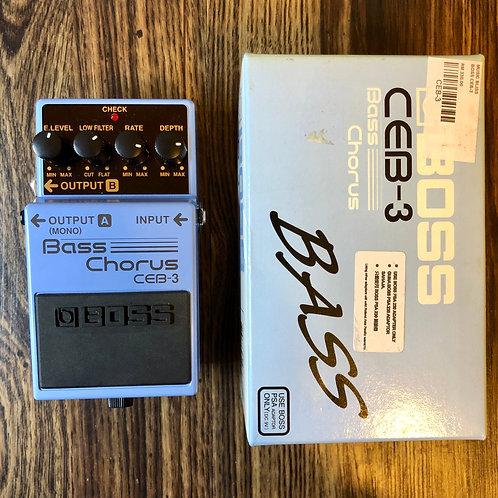 Boss CEB-3베이스 코러스 (M)-SOLD