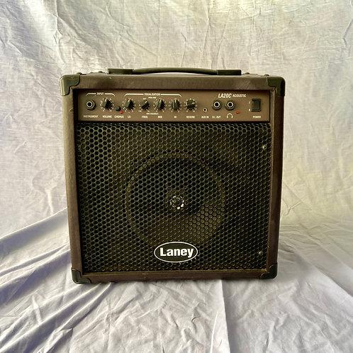 Laney LA20C Acoustic Guitar Combo Amplifier (20W) (G)