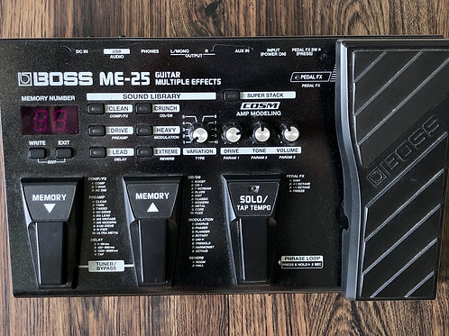 Boss ME-25 Guitar Multiple Effects (VG) - SOLD