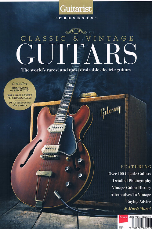 Classic & Vintage Guitars - The World's Rarest & Most Desirable Electric Guitars
