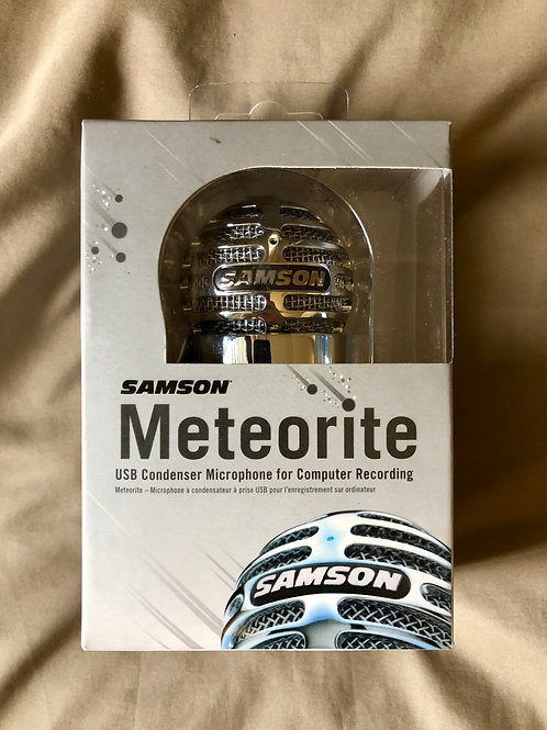 Samson Meteorite USB 콘덴서 마이크 (신제품)-판매 중