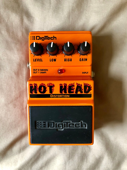 Digitech Hot Head Distortion Pedal (EXC) - SOLD