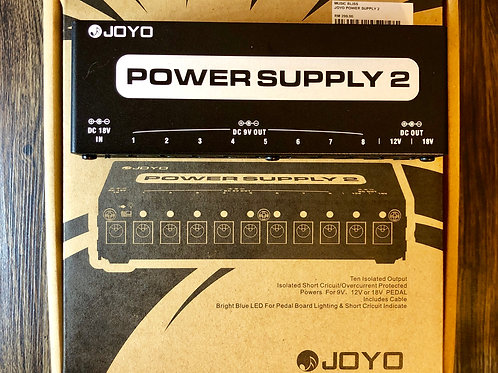 Joyo JP-02 Effect Pedal Power Supply 2 (EXC) - SOLD