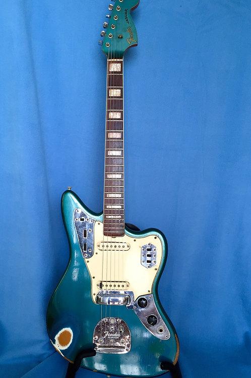 1966 Fender Jaguar Lake Placid Blue USA (VG)