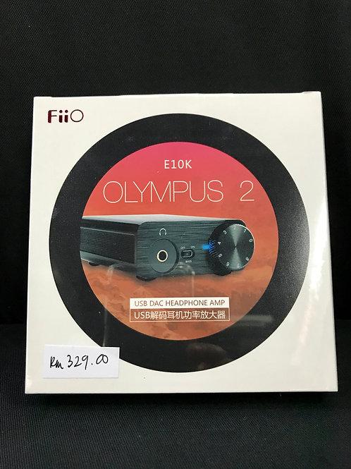 FiiO E10K Olympus 2 USB DAC Headphone Amp (New) - SOLD