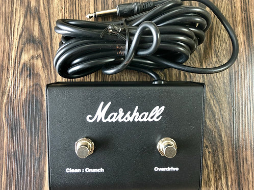 Marshall Dual Footswitch Pedal (PEDL-90010) For MG50FX Amplifiers (M) - SOLD