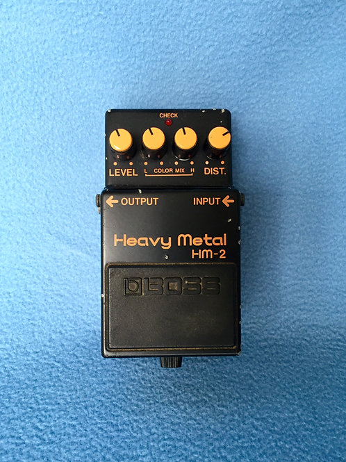 Boss Heavy Metal HM-2 (MIJ) Nov 1985 - SOLD