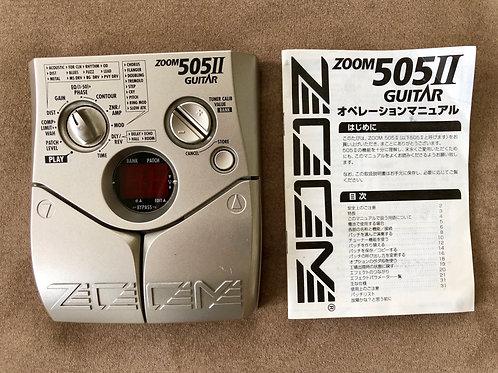 Zoom 505 II Guitar Multi-Effect Japan (VG) - SOLD