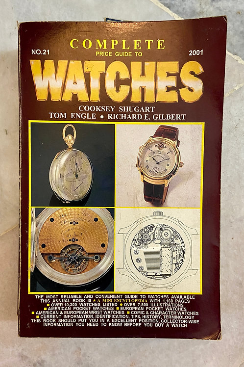 Complete Price Guide To Watches 2001 (No.21) (G)