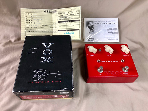 Vox Joe Satriani Satchurator Distortion Pedal JPN (M) - SOLD