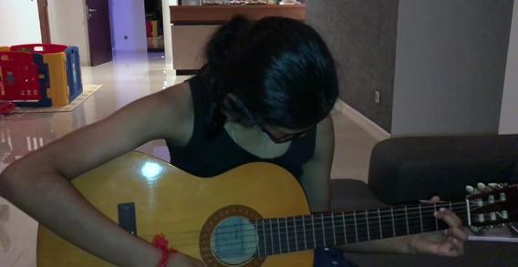Lohveena's  Guitar Lesson Demo