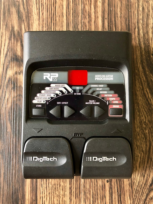 DigiTech RP55 Modeling Guitar Processor (M) - SOLD