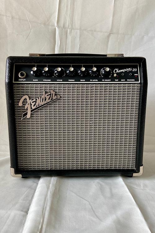Fender Champion 20 Guitar Combo Amplifier 20W (M) - SOLD