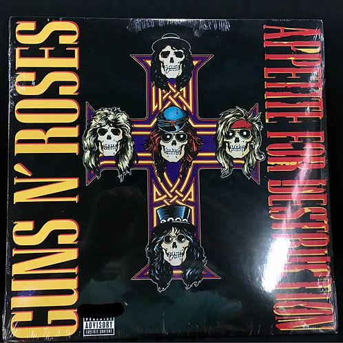 Guns & Roses - Appetite For Destruction Vinyl LP - SOLD