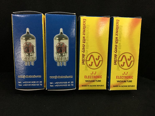 ECC82 / 12AU7  JJ Vacuum Tubes (Slovak Republic) - SOLD