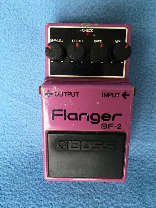Boss Flanger BF-2 (MIJ) SS Mar 1981 - SOLD