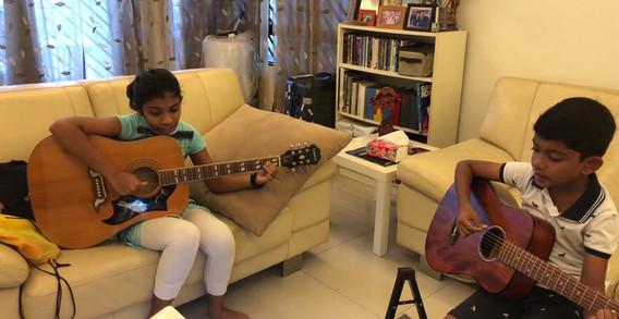 Varsha & Dash learning mode