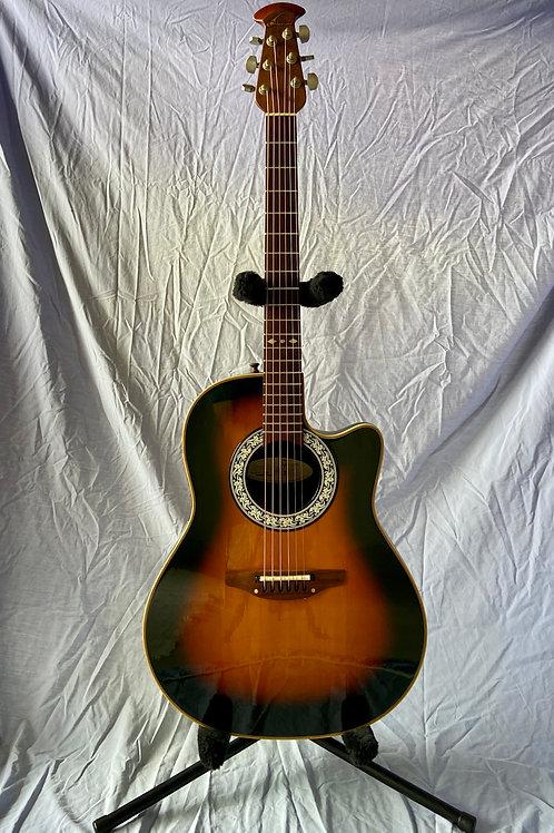 1995 Ovation Model 1860 Custom Balladeer USA (VG) - SOLD