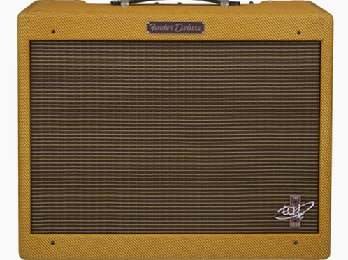Fender The Edge Deluxe Combo Guitar Tube Amplifier, Lacquered Tweed USA - SOLD