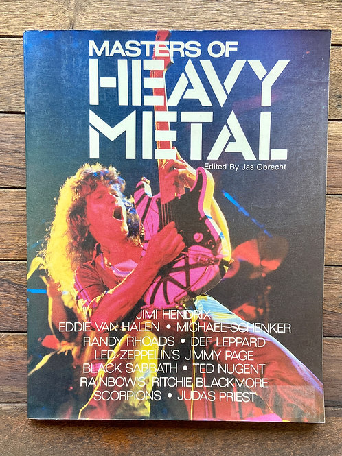 Masters of Heavy Metal Edited By Jas Obrecht (G) - SOLD