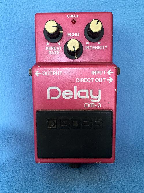 BOSS A. Delay DM-3 (MIJ) 1984 년 6 월 (VG)-판매