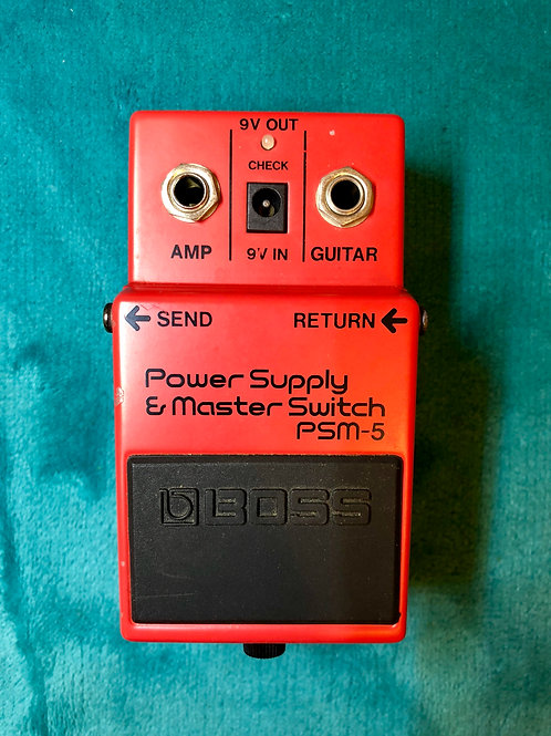 Boss PSM-5 Power Supply and Master Switch MIT (VG) - SOLD