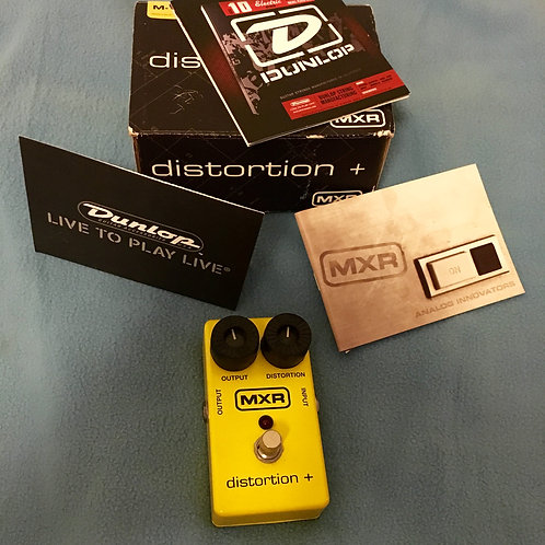 MXR Distortion +  M-104 Yellow 2006 - SOLD
