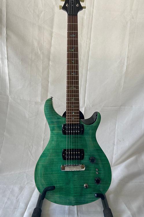 2020 PRS SE Paul's Guitar In Aqua Finish c/w PRS Soft Shell Bag  (VG) - SOLD